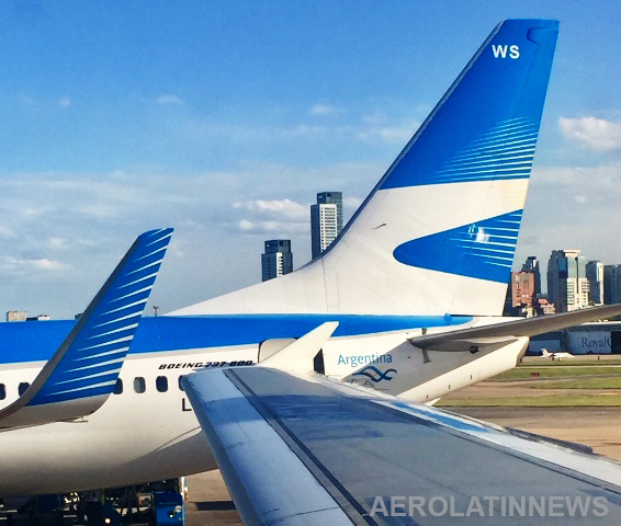 Argentina: Número de pasajeros en vuelos de cabotaje creció un 13%
