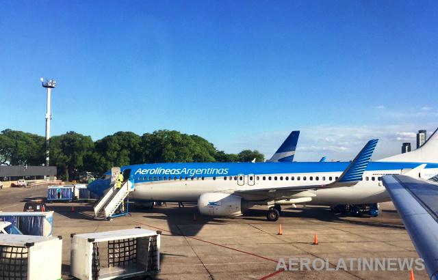 """Aerolíneas Argentinas inauguró su frecuencia Posadas """""""" Córdoba con aviones totalmente vendidos"""