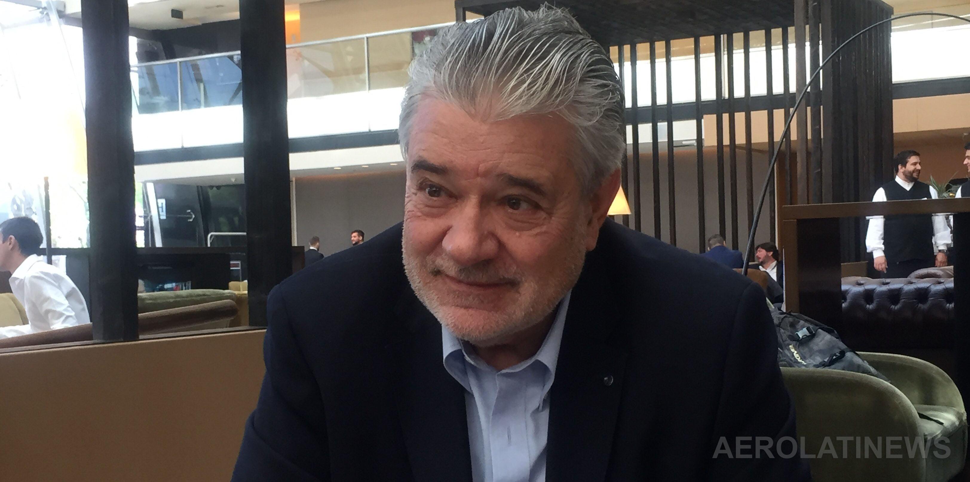 """""""El espacio aéreo va a estar saturado y la única solución es tener aviones de mayor capacidad"""": Rafael Alonso"""