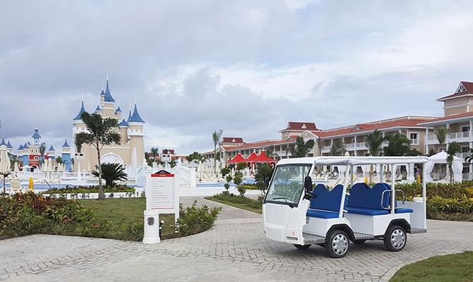 Bahía Príncipe Bavaro Resort, primer complejo con movilidad 100% eléctrica