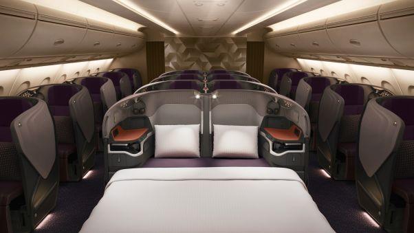La nueva cama doble de Singapore Airlines: la revolución del sueño de 850 millones de dólares