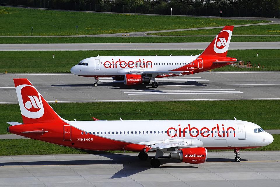 El tráfico de Berlin cae un 12% tras la quiebra de airberlin