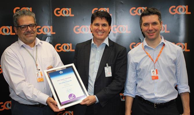 Gol ganha certificado por facilitação de viagens