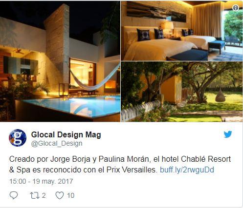 El mejor hotel del mundo se encuentra en México