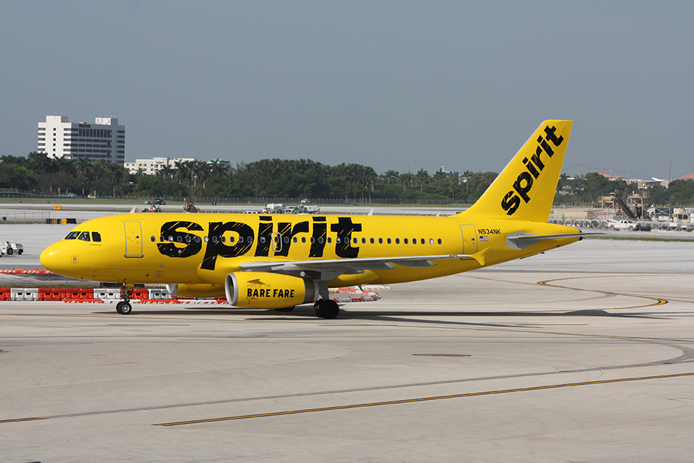 Spirit Airlines Announces New Service for 2020