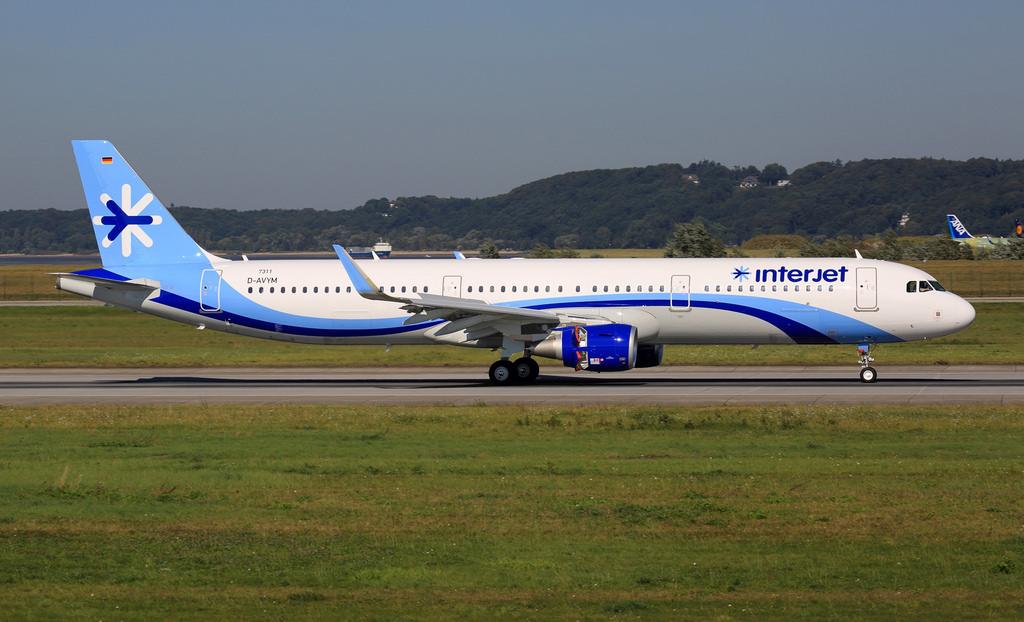 Interjet prepara su aterrizaje en El Salvador