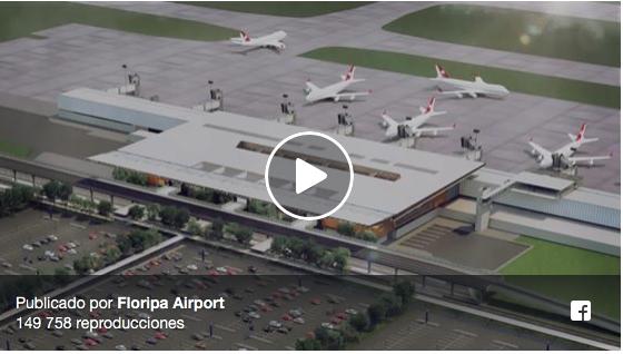 Vídeo mostra como será o novo terminal do aeroporto de Florianópolis