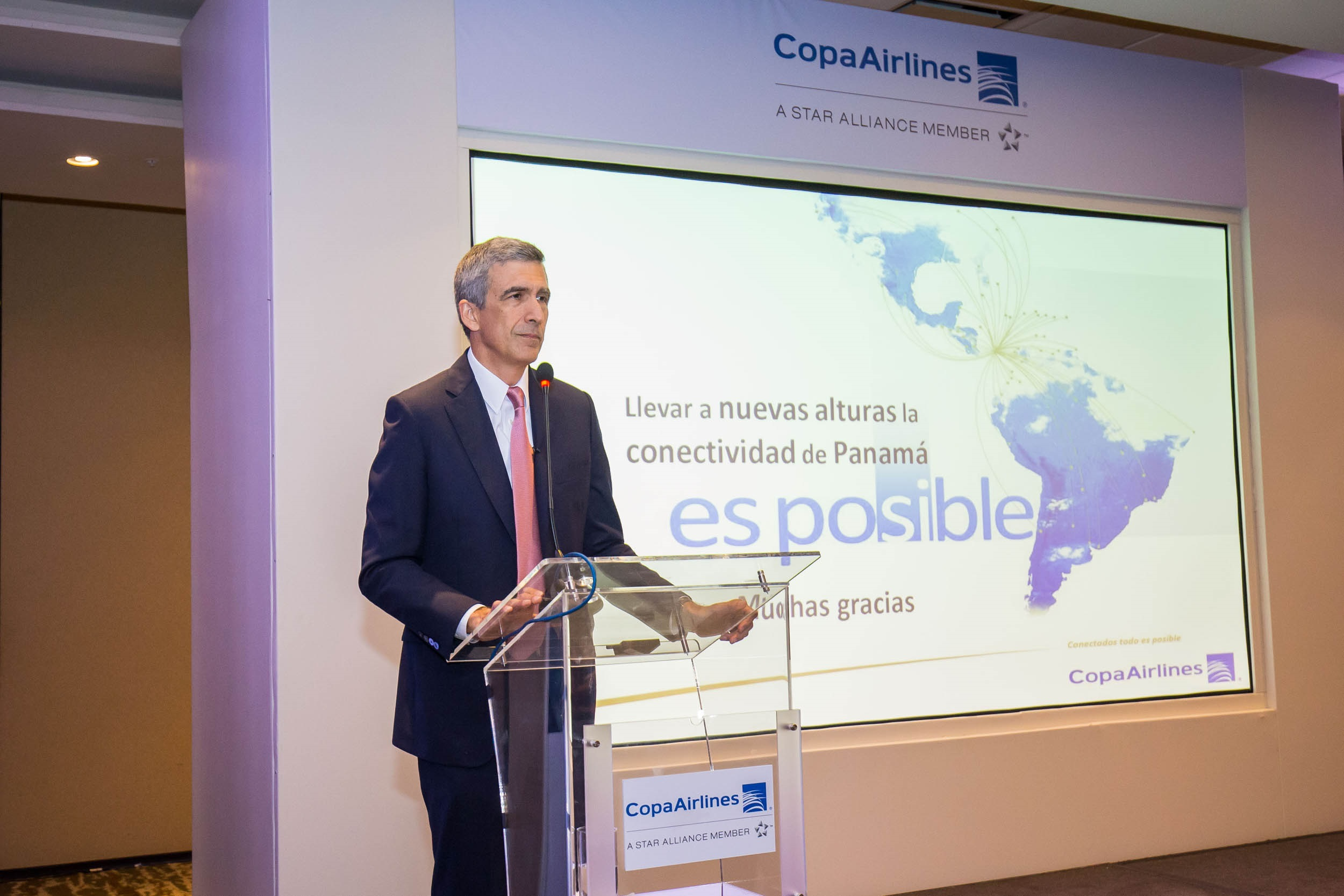 Pedro Heilbron, CEO of Copa Airlines, assumes the Presidency of ALTA