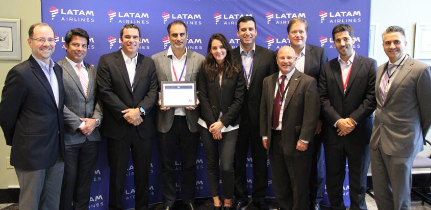 Handler de LATAM Cargo recibe certificación CEIV Pharma