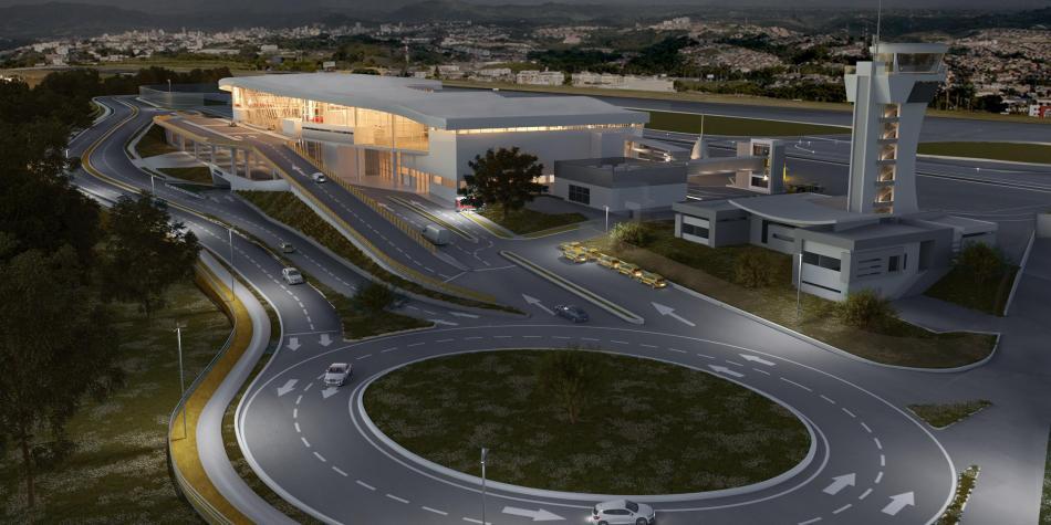 Colombia: El nuevo Aeromatecaña, con un vuelo para 30 años