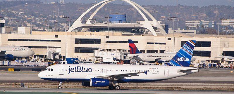 JetBlue aumenta un 3,3% sus pasajeros hasta mayo del presente año 2018