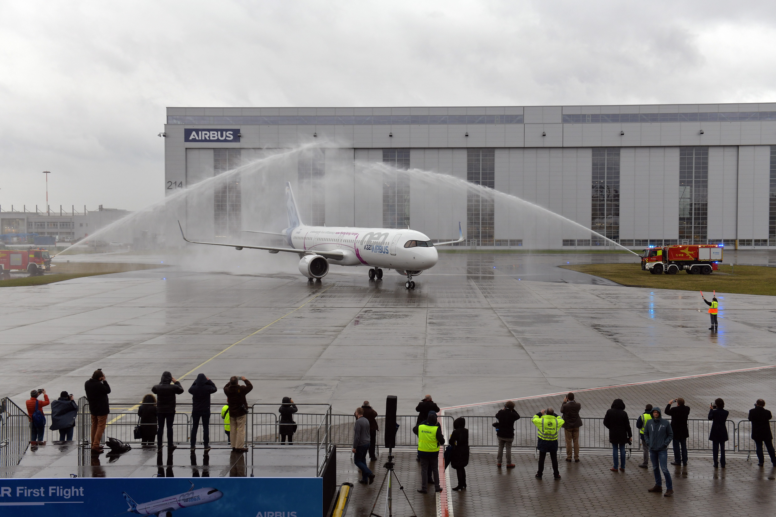 First A321LR successfully completes maiden flight