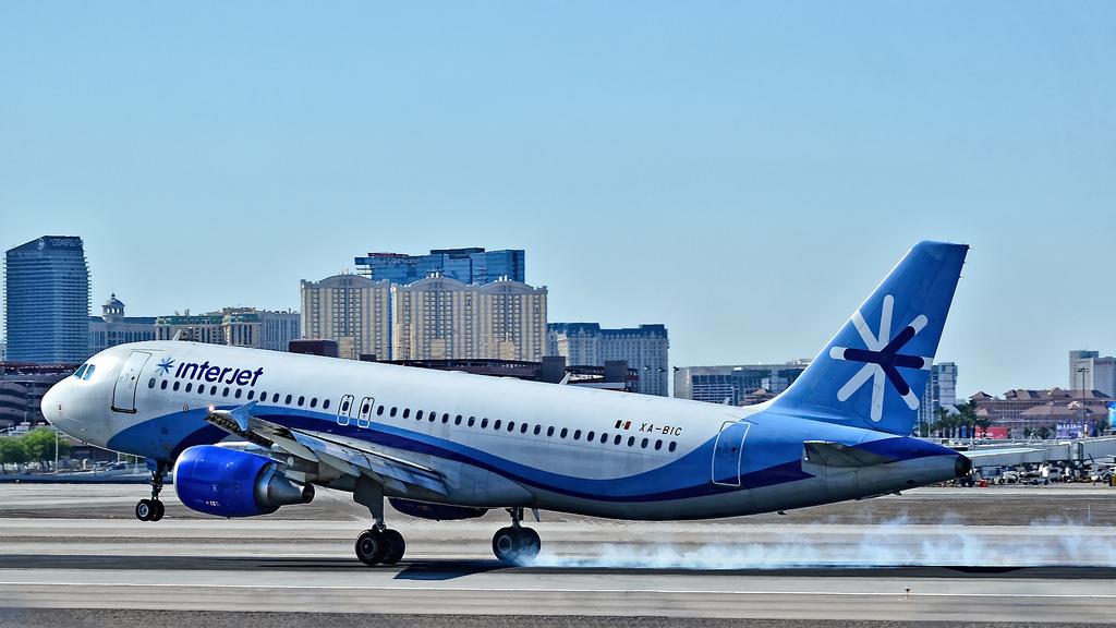 Interjet incrementa 14% su número de pasajeros transportados a EE.UU.