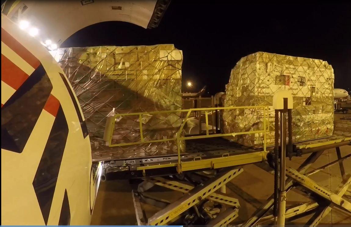 LATAM Cargo transporta más de 9.500 toneladas de flores para San Valentín