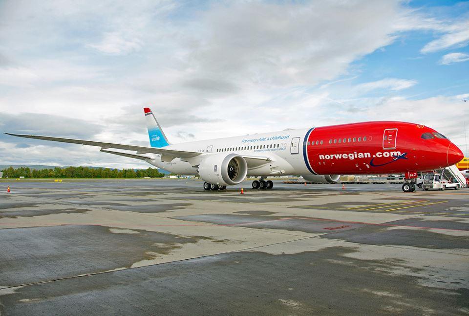 Norwegian Air Argentina inauguró sus vuelos a Bariloche