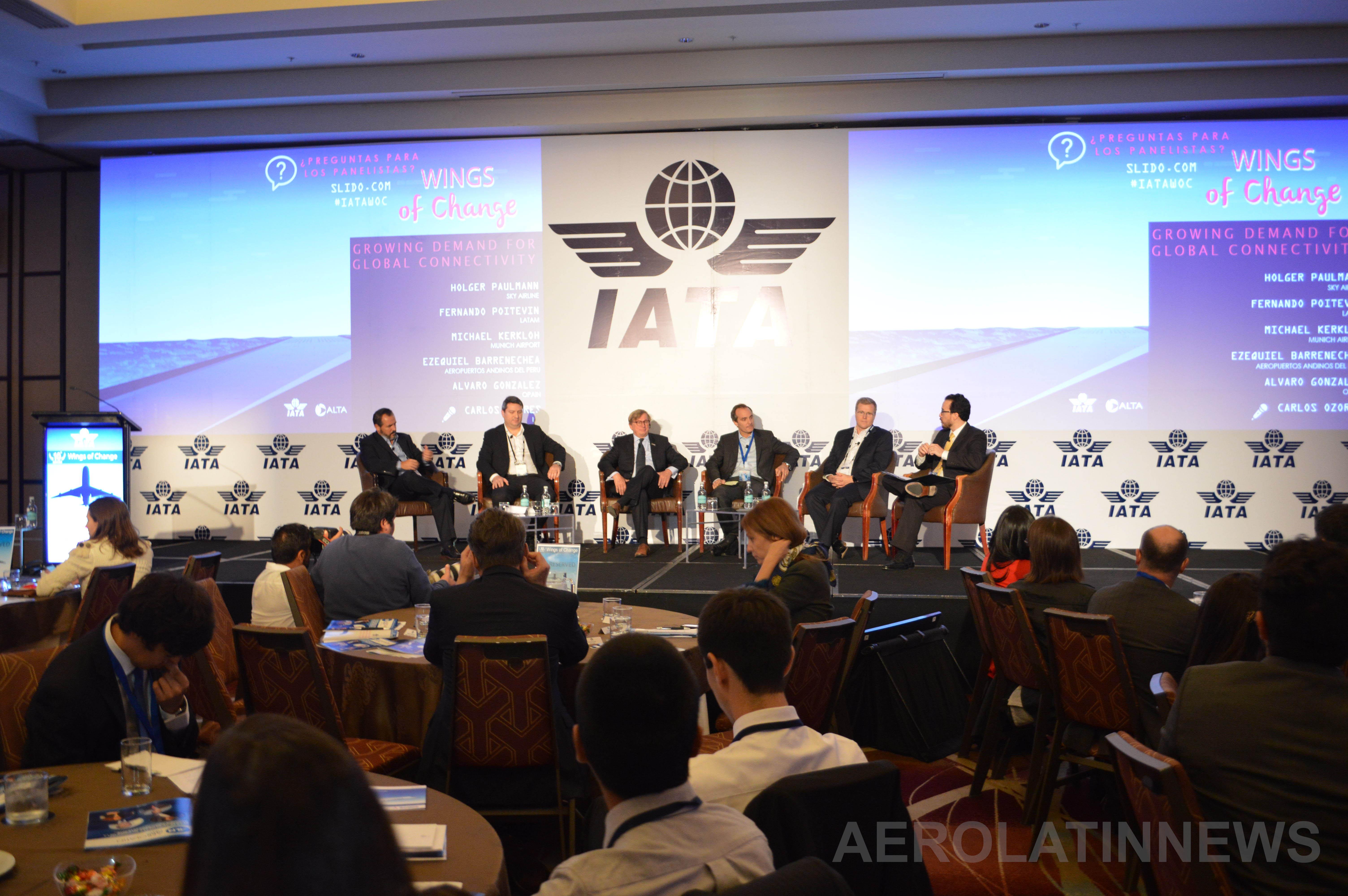Infraestructura, tasas, proteccionismo, apoyo gubernamental y tecnología: Principales temas en 1er día de Wings of Change (GALERÍA)