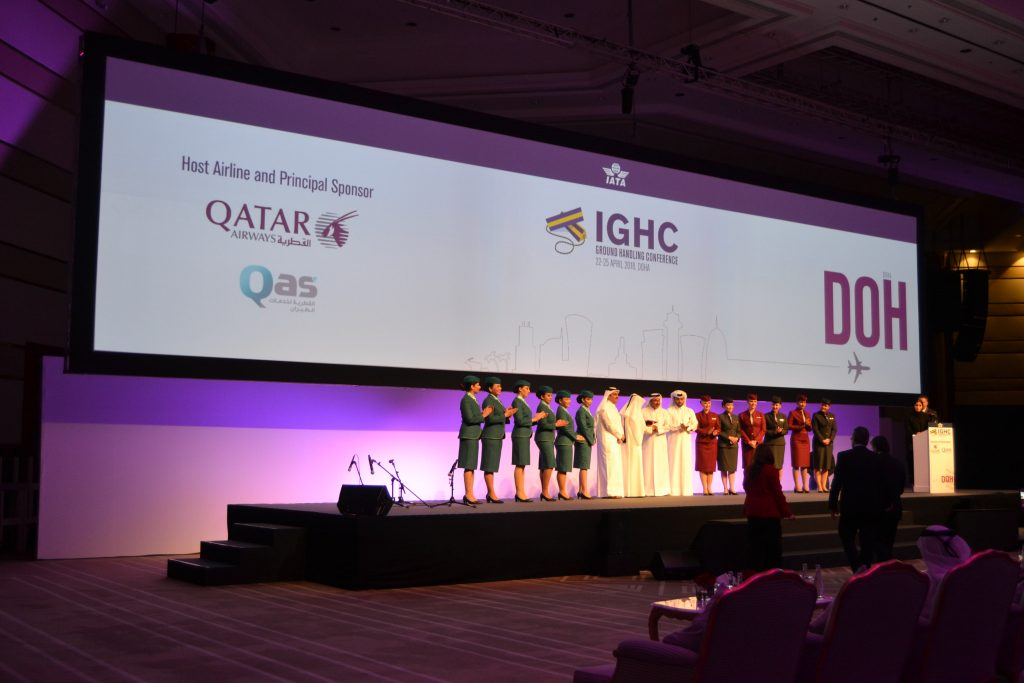 The 31st IATA Ground Handling Conference Opens in Doha