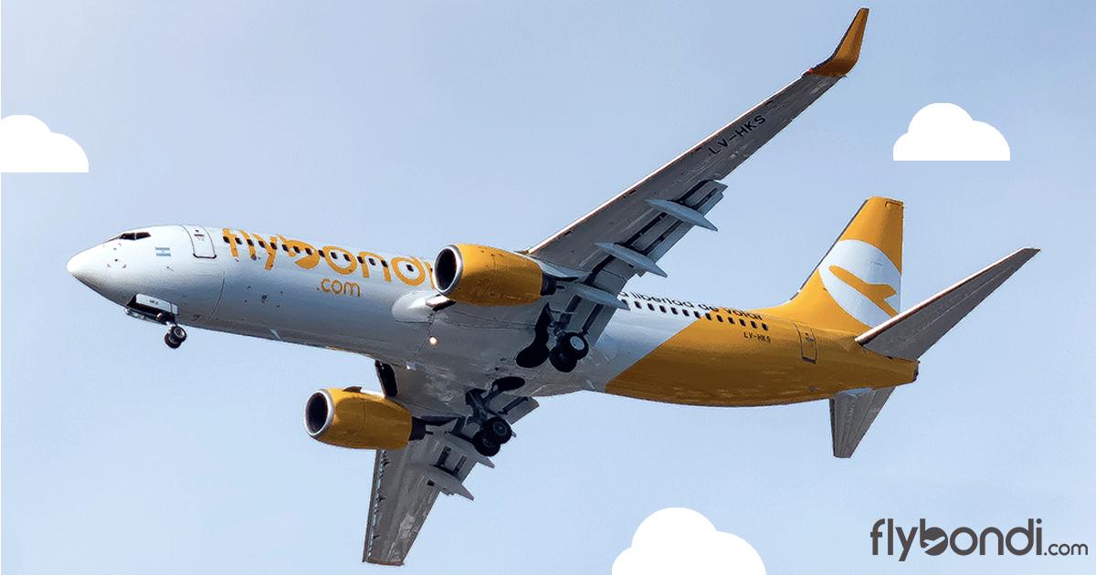 Flybondi deja de volar a Bahía Blanca y realiza otras modificaciones en su red