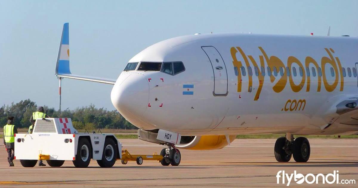 Se alista un nuevo boeing para Flybondi