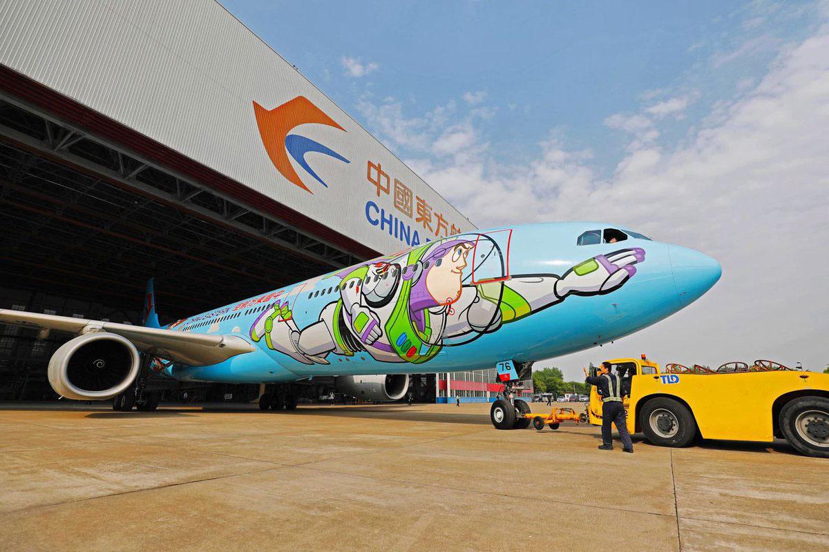Hasta el infinito y más allá con el A330 de Toy Story