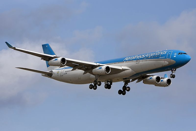 Aerolíneas anuncia primeros vuelos especiales a Madrid