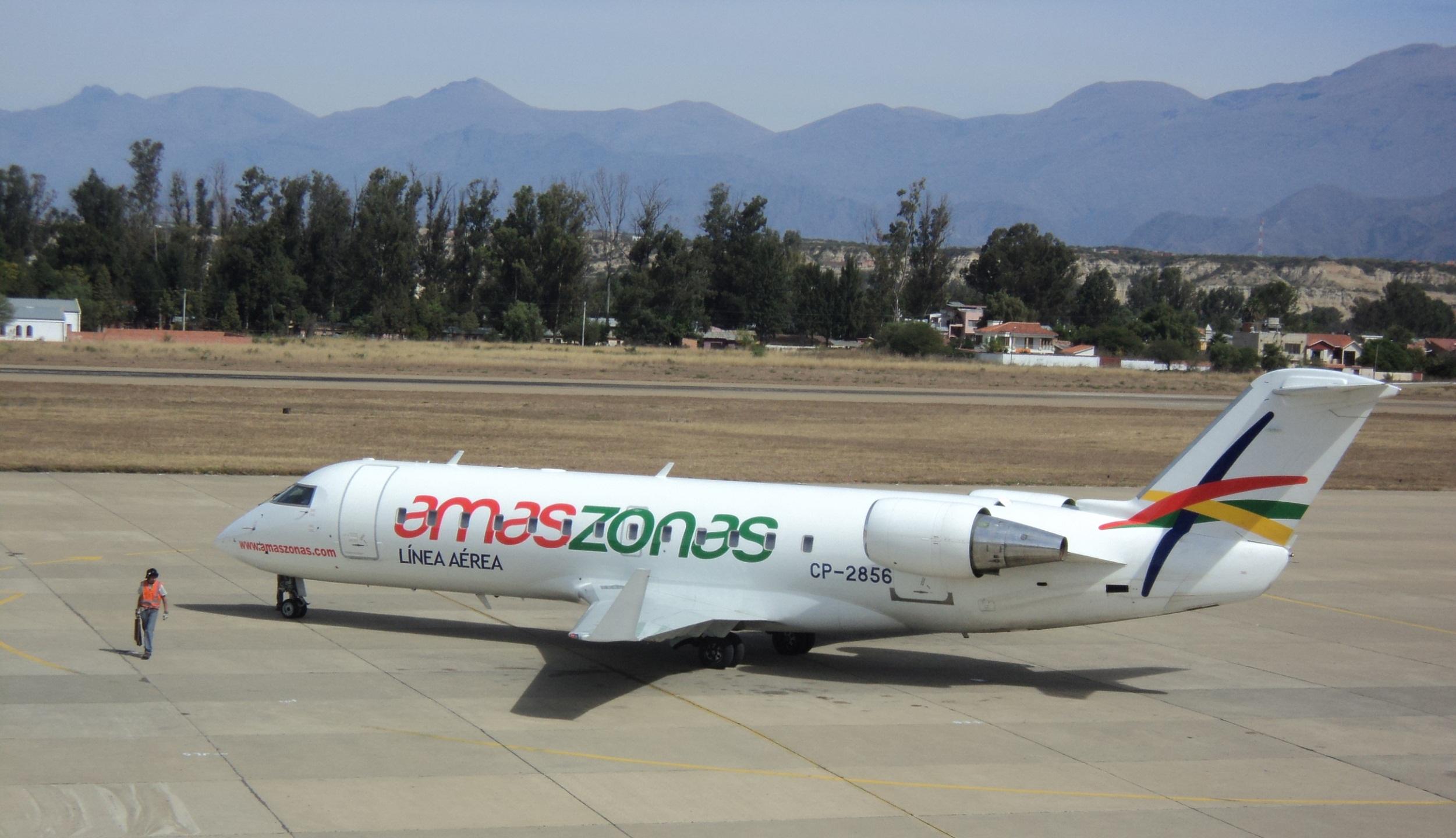 Amaszonas Bolívia adia início de operações regulares para São Paulo