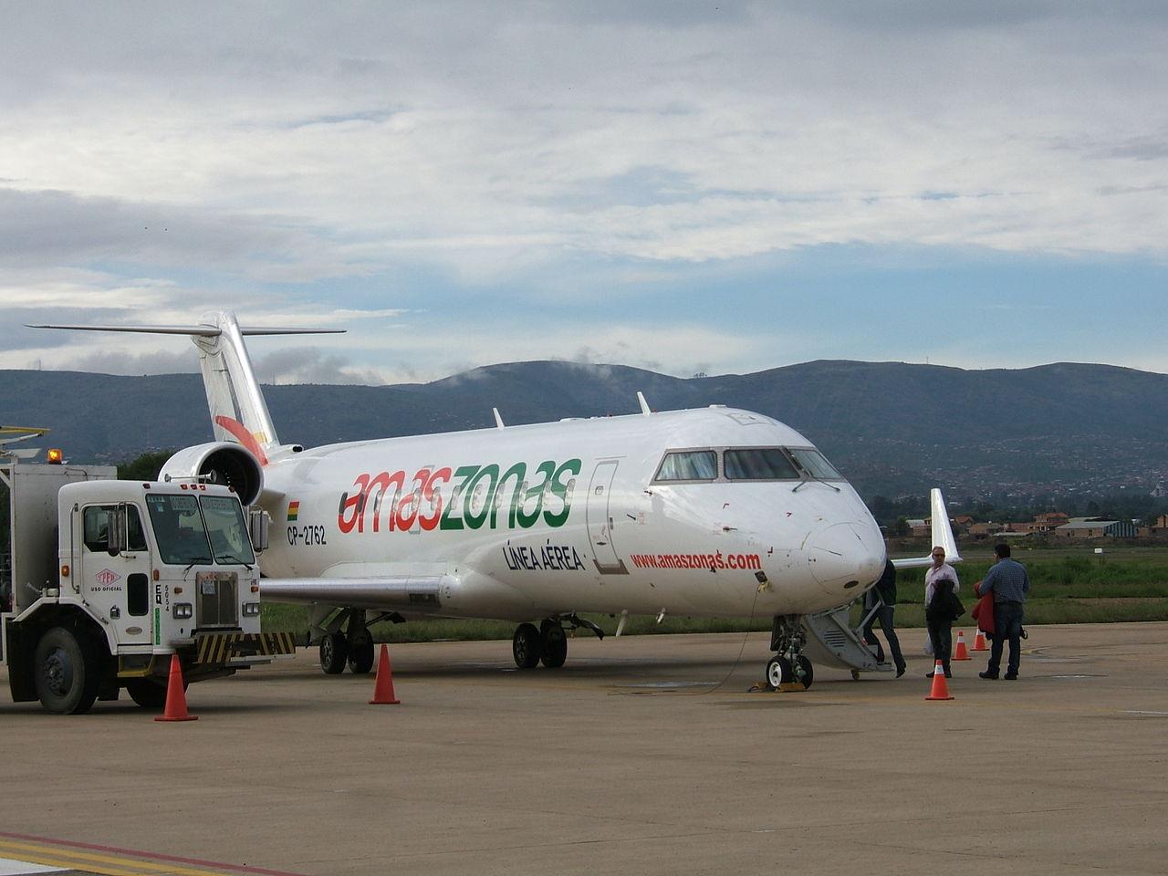 Amaszonas lança voo de Foz do Iguaçu para Bolívia