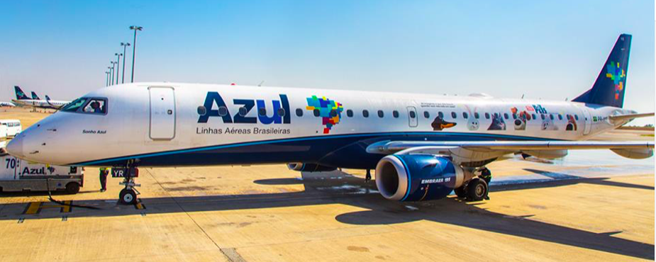 Brazilian airline Azul's Q3 profit drops on oil prices, currency