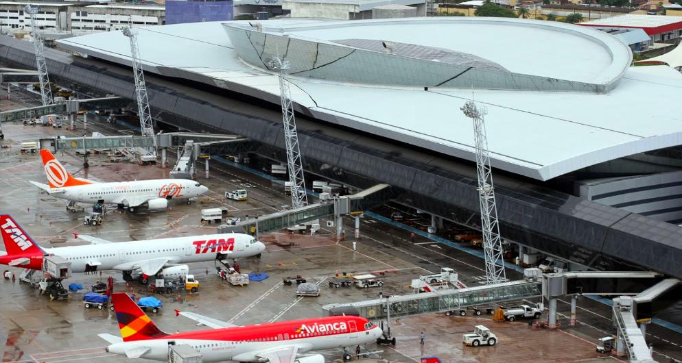 Aeroporto do Recife tem alta de 8,8% na movimentação de cargas