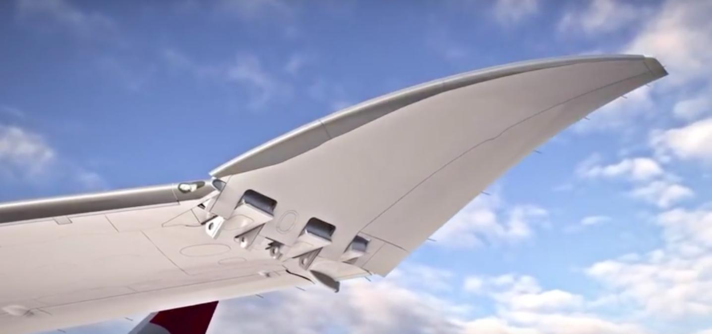 FAA aprueba modelo de alas plegables de Boeing