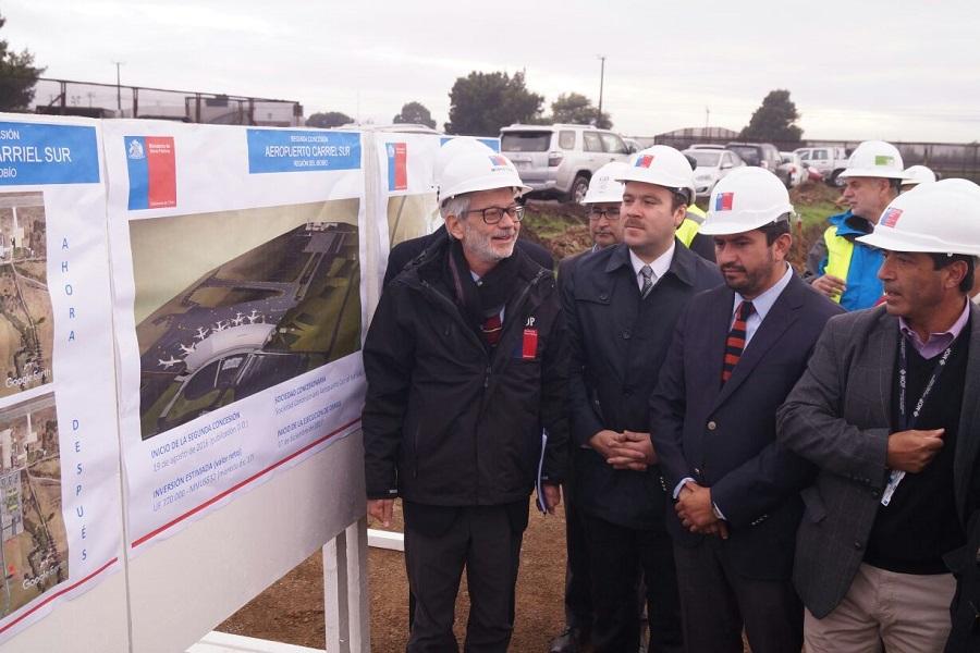 Chile: MOP pretende que aeropuerto de Concepción se convierta en terminal internacional