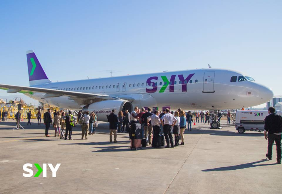 Sky Airline eyes expansion as fleet transitions to the A320neo from September 2018