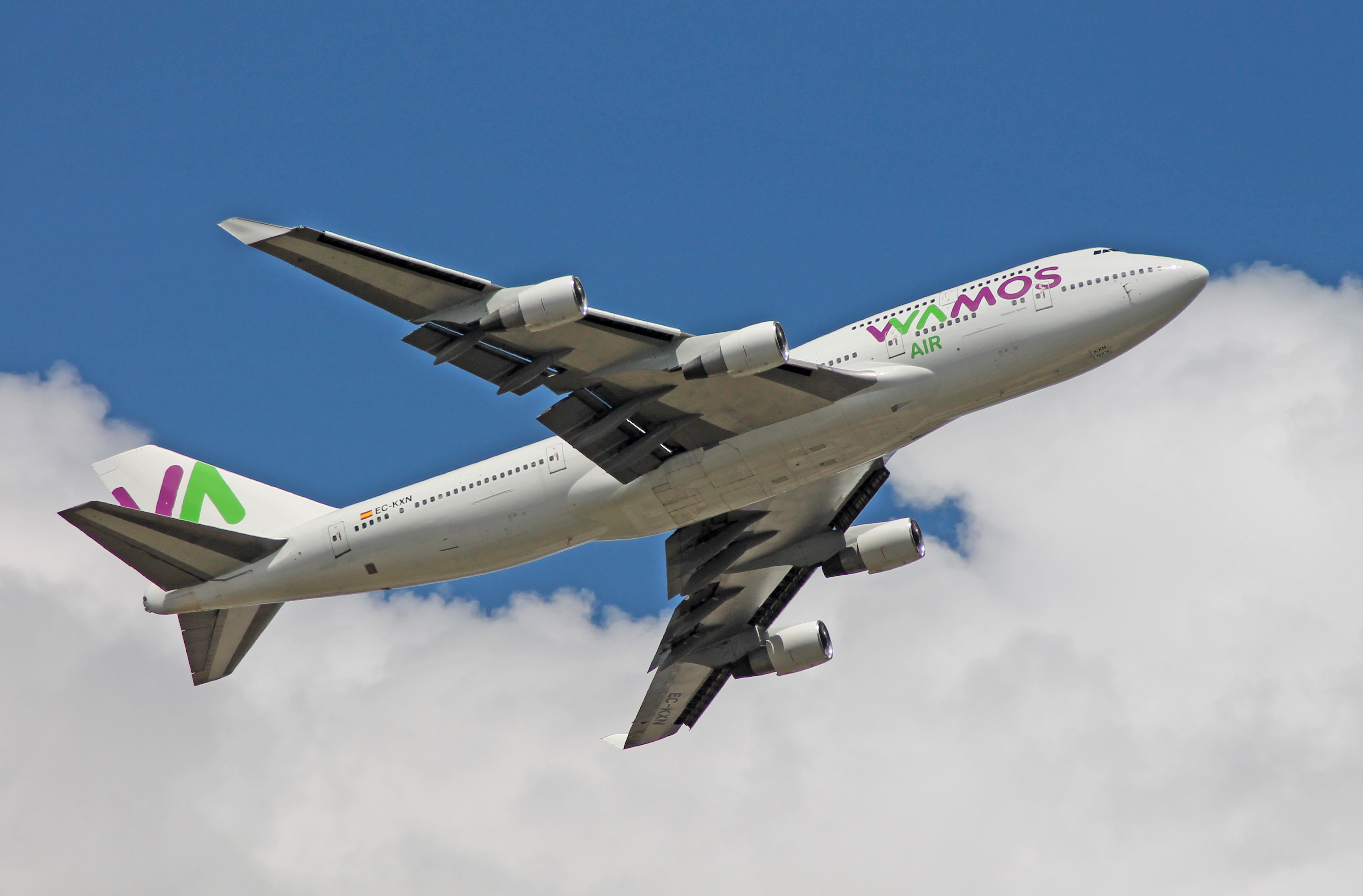Wamos Air lanza original ruta entre España, Cuba y Guatemala