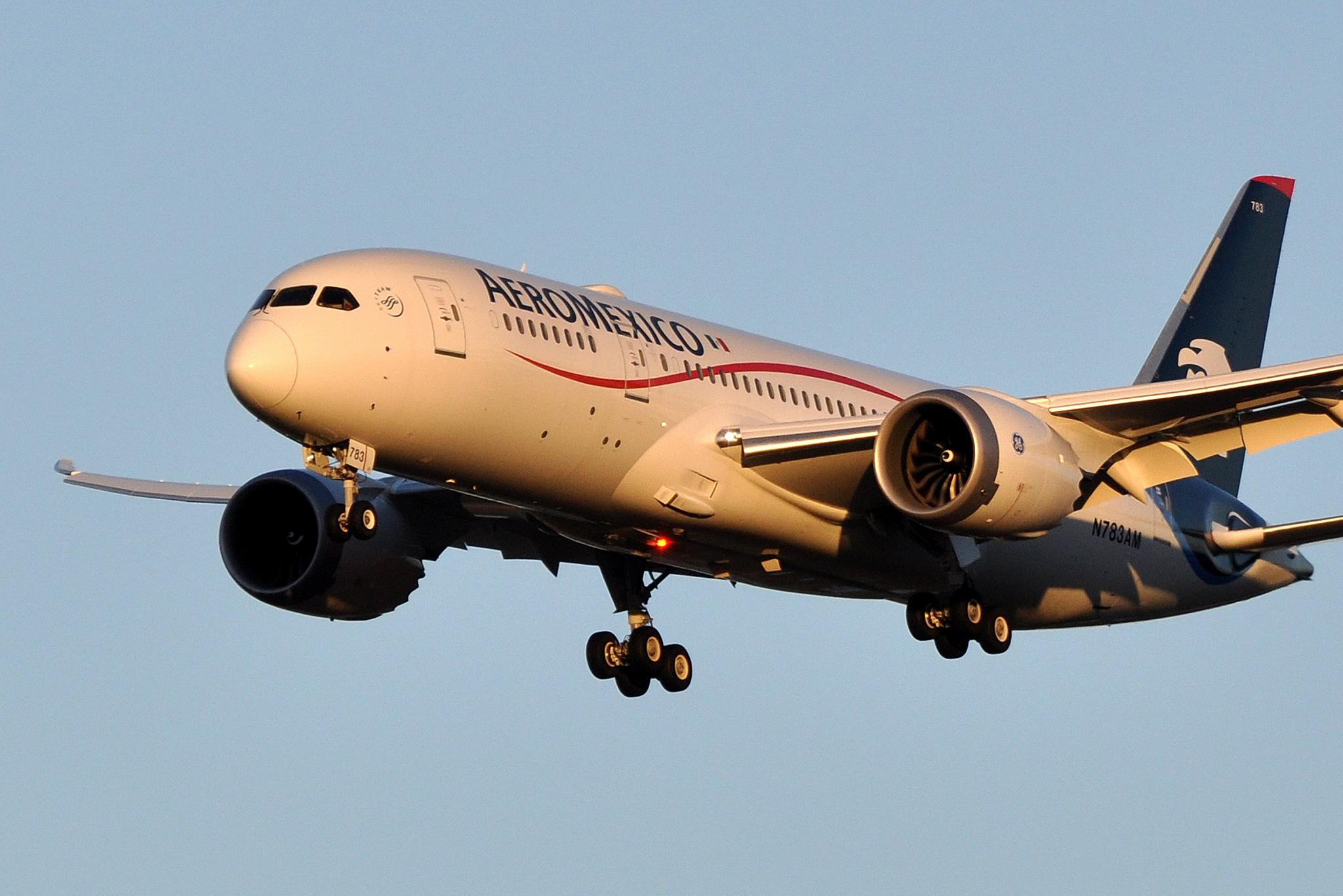 Vuela Aeroméxico por primera vez a Israel