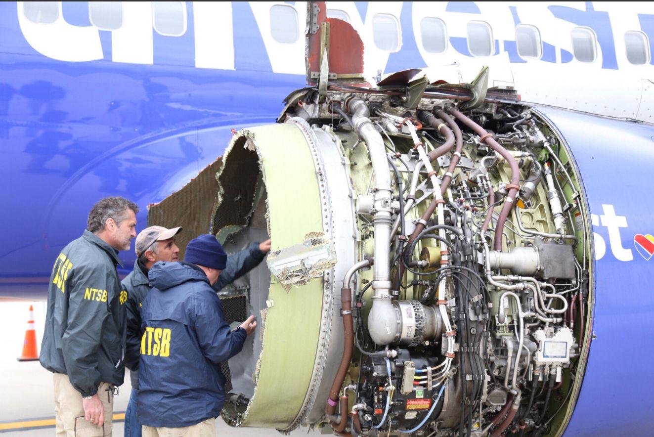 Southwest revela los resultados de la revisión de todos sus aviones