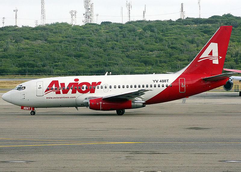 Avior aumenta a tres sus vuelos semanales entre Caracas y Santo Domingo