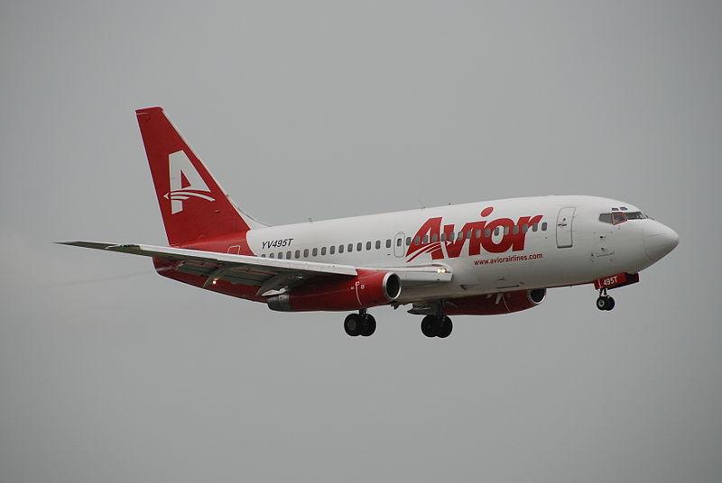 Avior Airlines con Nuevo Vuelo Bogotá – Valencia, Venezuela