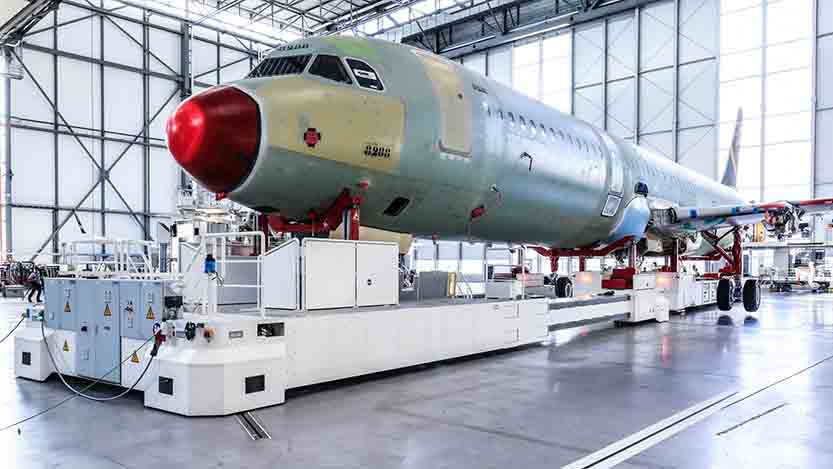 "Airbus inaugurates Hamburg""™s fourth A320 Family production line"