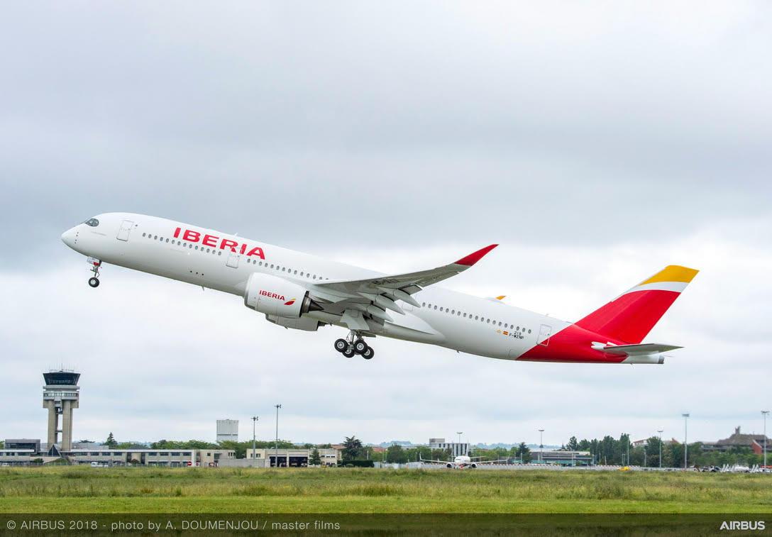 Iberia aumentará en un 40 por ciento su oferta aérea entre Colombia y España