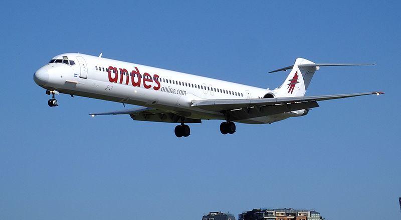 Exitoso inicio de vuelos de Andes a Termas de Río Hondo
