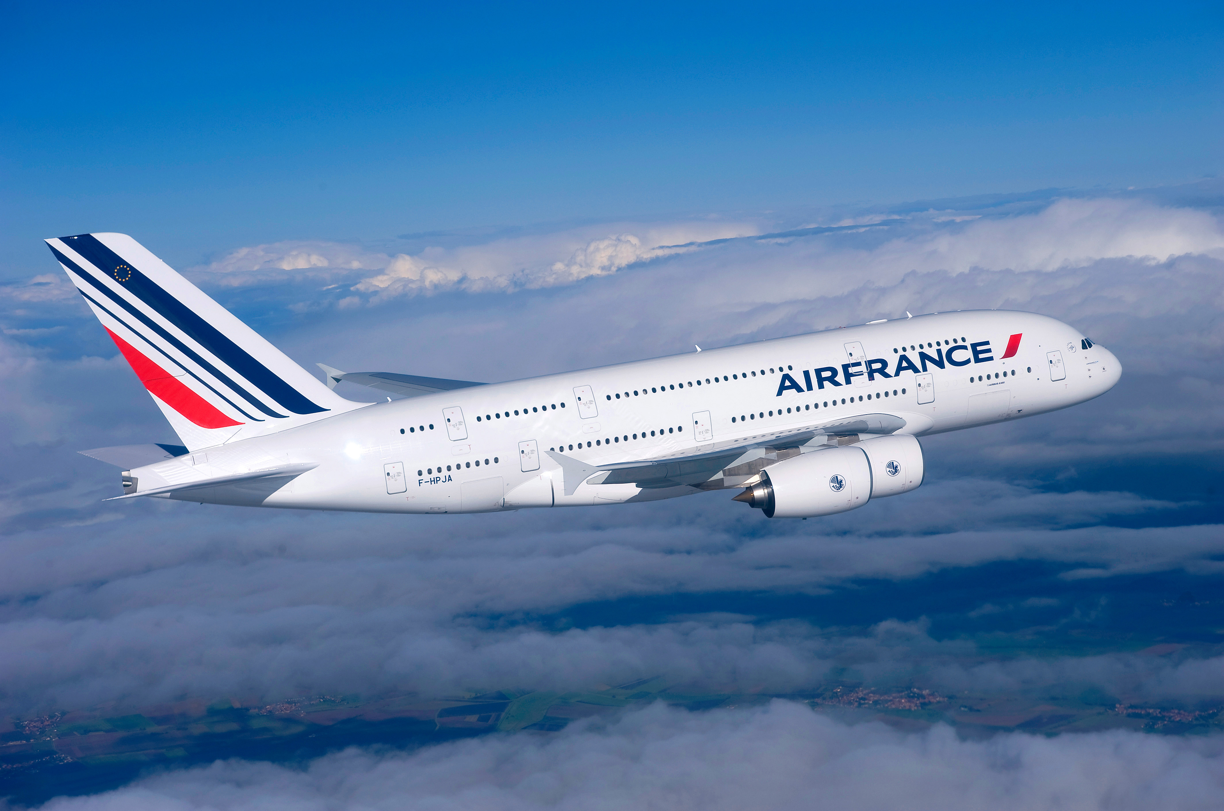 Gastronomía francesa a bordo de Air France