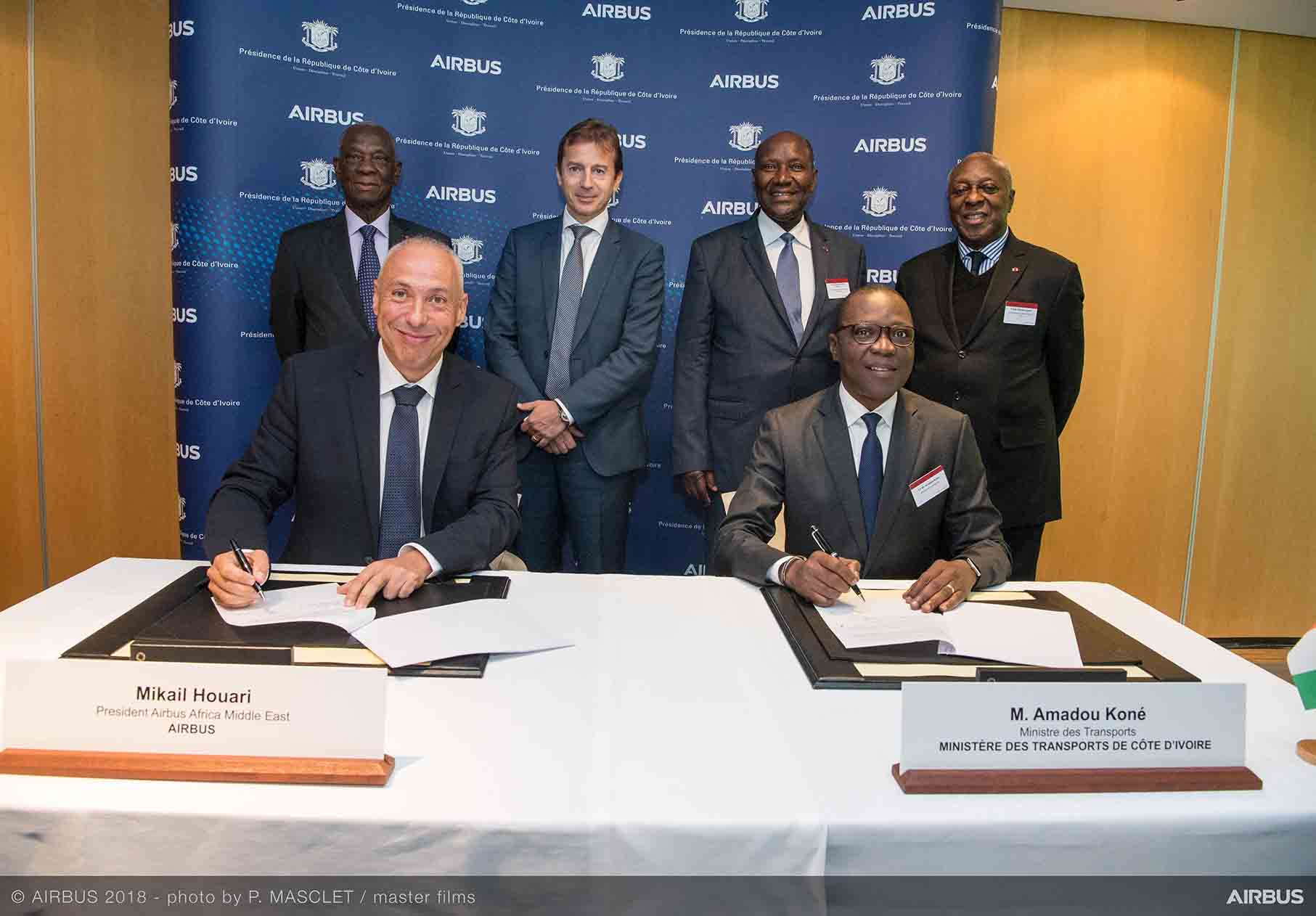 Airbus enters partnership with government of Côte d'Ivoire