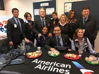American Airlines celebró por tercer año consecutivo el día del auxiliar de vuelo en Chile
