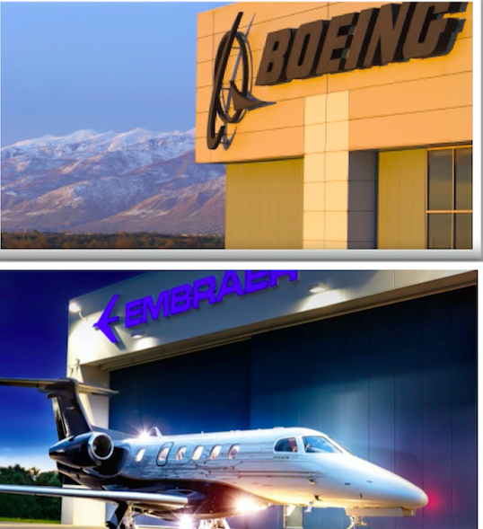 """Boeing Is Close To Finalizing a Joint Venture with Brazil""""™s Embraer"""