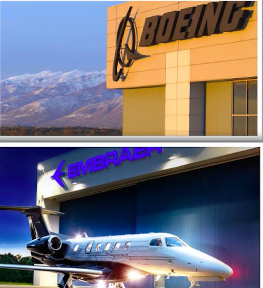 Boeing y Embraer esperan que la transacción se cierre a principios de 2020