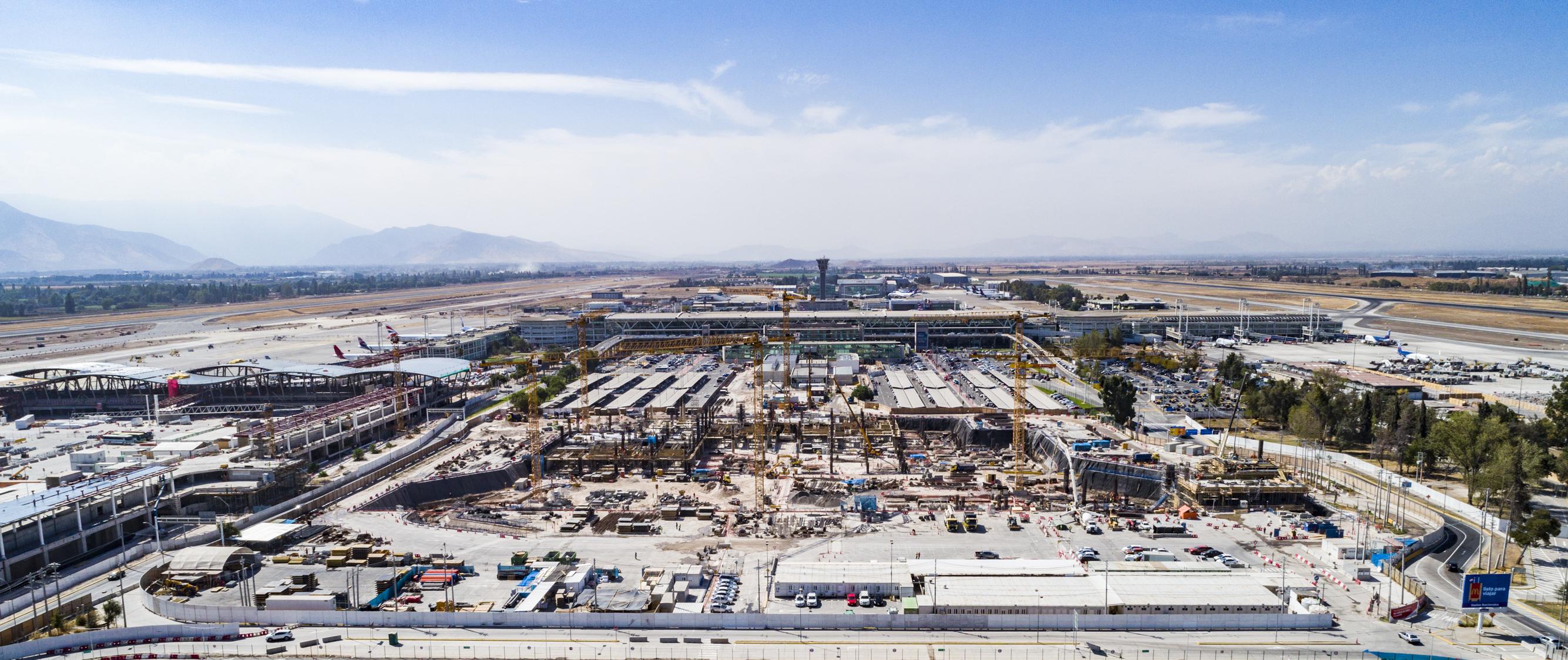 MOP anuncia mesa técnica para mejorar operación y desarrollo en obras de ampliación de aeropuerto AMB