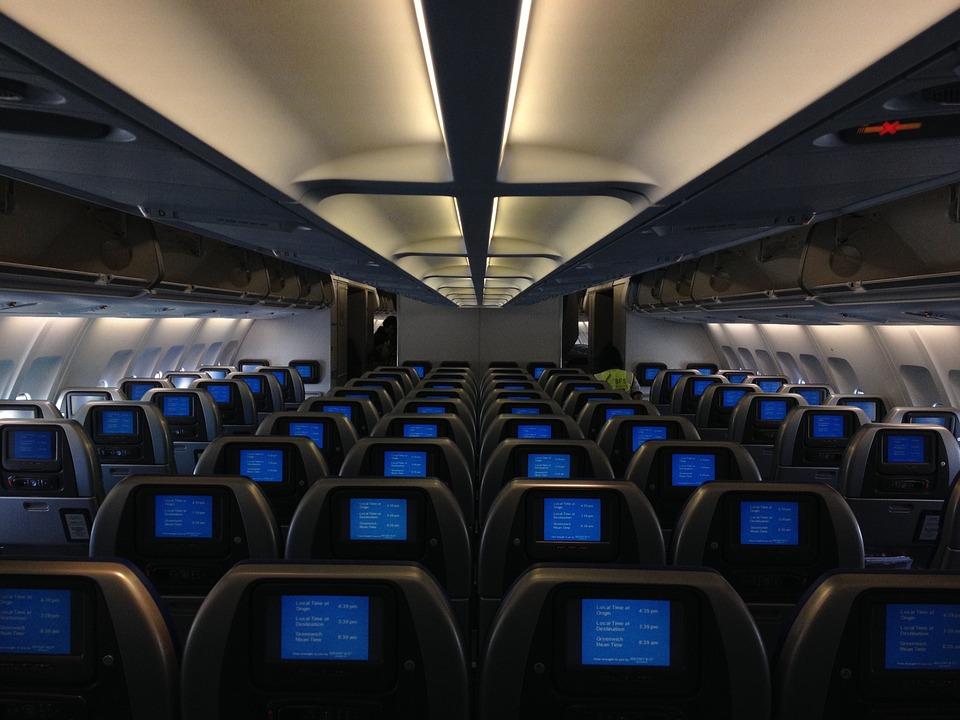 Aviones a NY con un solo pasajero