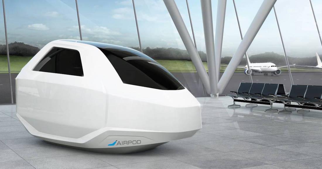 AirPod, la cápsula para trabajar y descansar en los aeropuertos