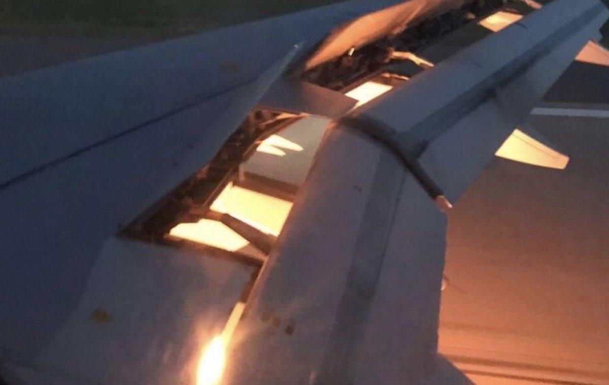 Falla motor de un A319 de Rossiya; transportaba a la selección de fútbol de Arabia Saudita