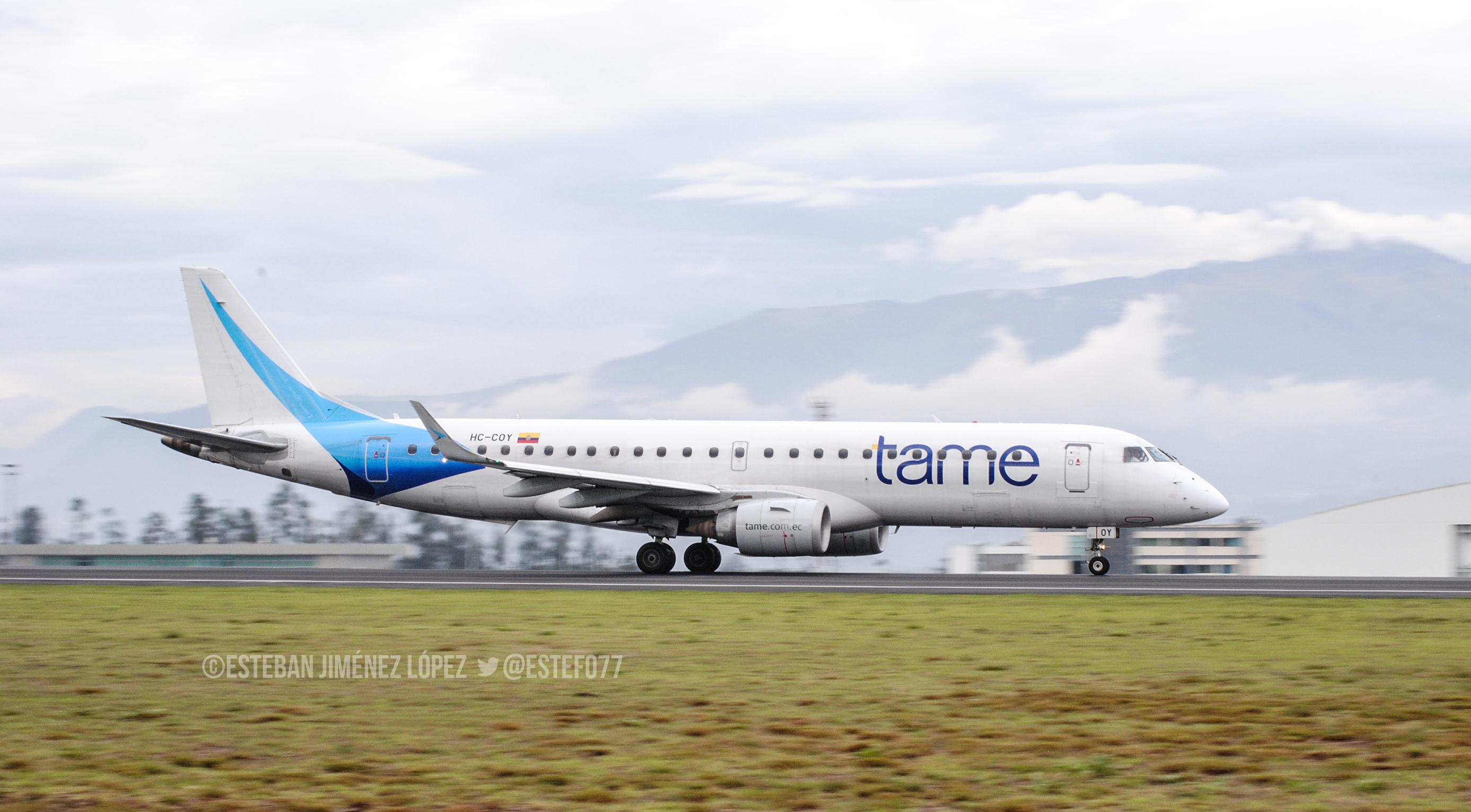 Tame cancela vuelo de Nueva York a Quito por 'mantenimiento' 4447 Tame suspende nuevamente vuelo con ruta Quito – Nueva York